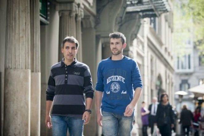 Xavi ir Jordi   Organizatorių nuotr.