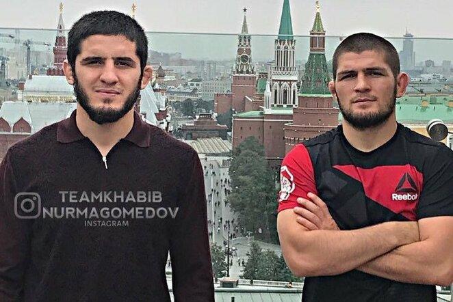 Islamas Machačevas ir Chabibas Nurmagomedovas | Instagram.com nuotr