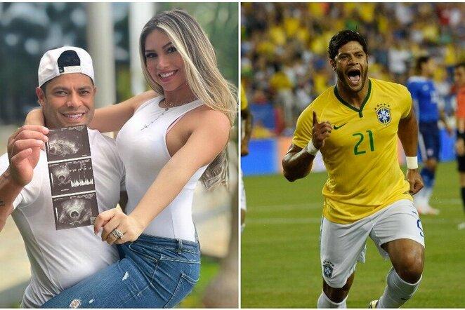 "Hulkas ir Camila Angelo | ""Scanpix"" ir instagram.com nuotr."