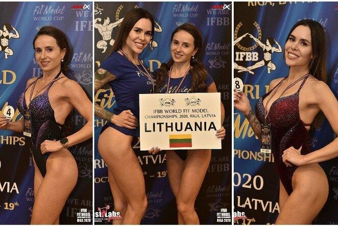 Lietuvės IFBB varžybose (eastlabs.sk nuotr.) | Organizatorių nuotr.