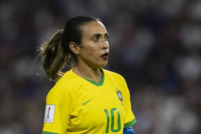 Brazilijos rinktinės kapitonė Marta | Scanpix nuotr.