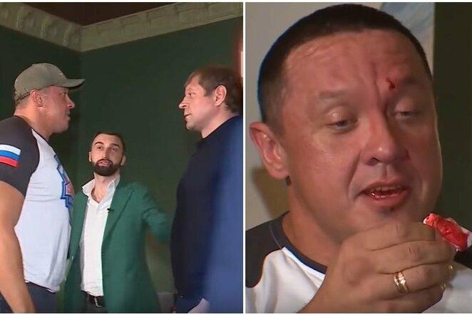 Aleksandras Jemeljanenka ir Michailas Kokliajevas | Youtube.com nuotr.