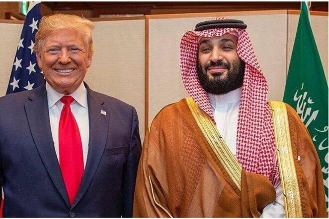 Donaldas Trumpas ir Mohammedas bin Salmanas Al Saudas | Instagram.com nuotr
