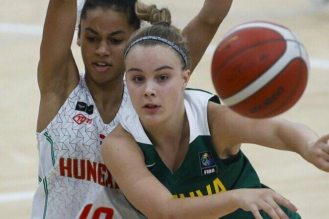 Lietuvos jaunučių merginų krepšinio rinktinė | FIBA nuotr.