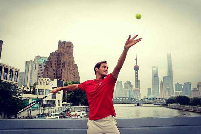 Rogeris Federeris | Instagram.com nuotr