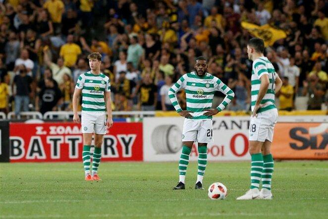 """AEK ir """"Celtic"""" rungtynės   Scanpix nuotr."""