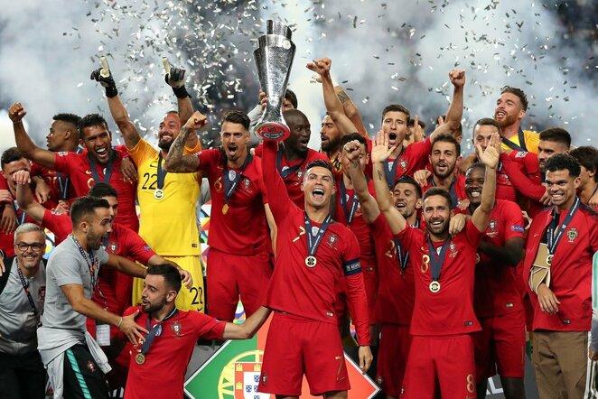 Portugalijos rinktinės triumfas | Scanpix nuotr.
