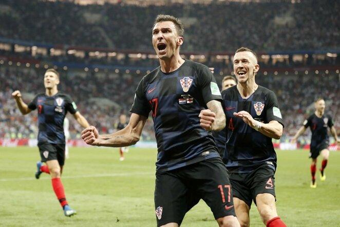 Kroatų triumfas   Scanpix nuotr.