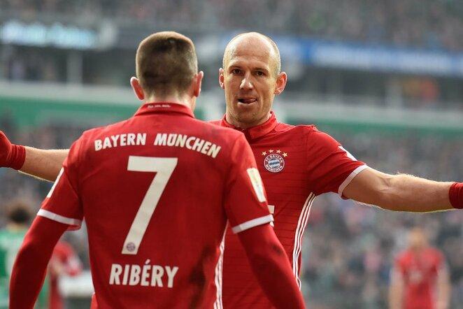 Arjena Robbenas ir Franckas Ribery   Scanpix nuotr.