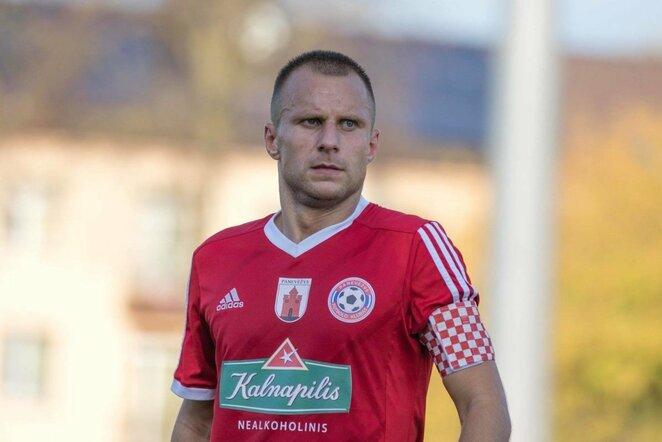 Paulius Janušauskas   fk-panevezys.lt nuotr.