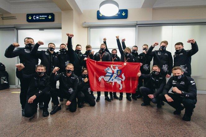 B.Vanagas planuoja komandos augimą – lenktyniaus ne tik lietuviai | Vytauto Pilkausko nuotr.