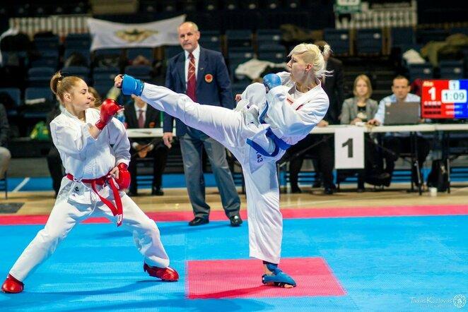 Olimpinė karatė   Organizatorių nuotr.