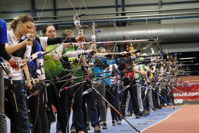 Baltijos uždarų patalpų šaudymo iš lanko čempionatas | Organizatorių nuotr.