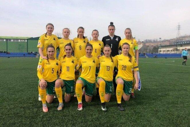 Lietuvos moterų futbolo rinktinė   LFF nuotr.