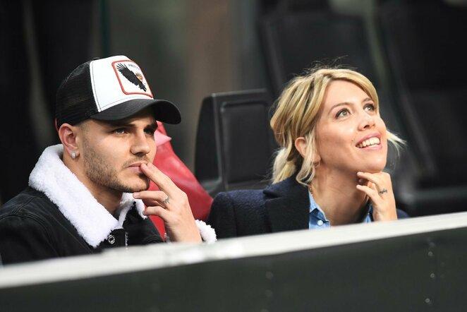 Mauro Icardi ir Wanda Nara | Scanpix nuotr.