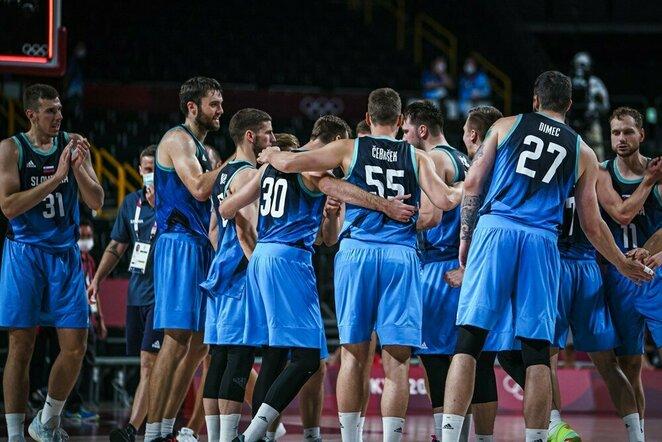 Slovėnijos rinktinė   FIBA nuotr.