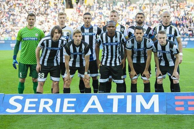 """Udinese"" futbolininkai   Scanpix nuotr."