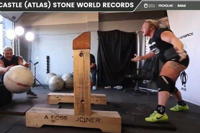 Pasaulio rekordas | Youtube.com nuotr.