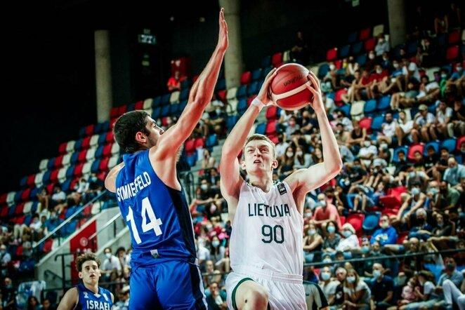 Lietuvos jaunių krepšinio rinktinė | FIBA nuotr.