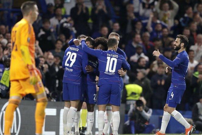 """Chelsea"" – ""MOL Vidi"" rungtynių akimirka  | Scanpix nuotr."