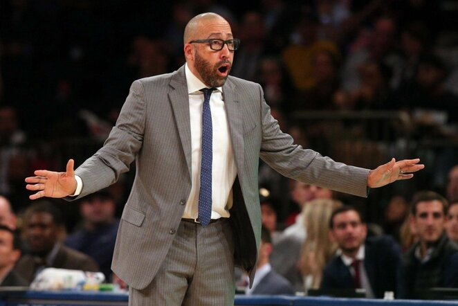 Davidas Fizdale'as | Scanpix nuotr.