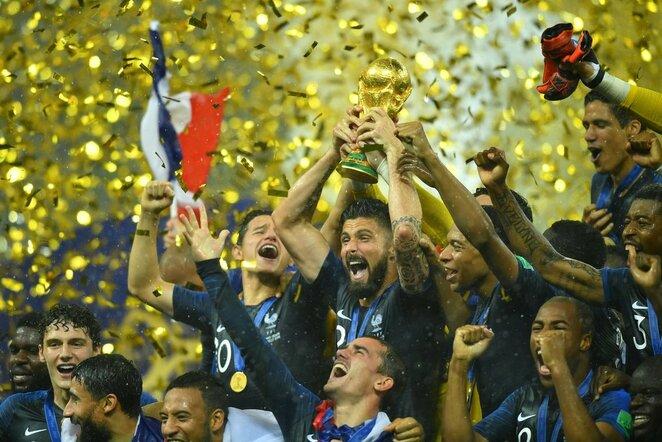 Prancūzų triumfas | Scanpix nuotr.