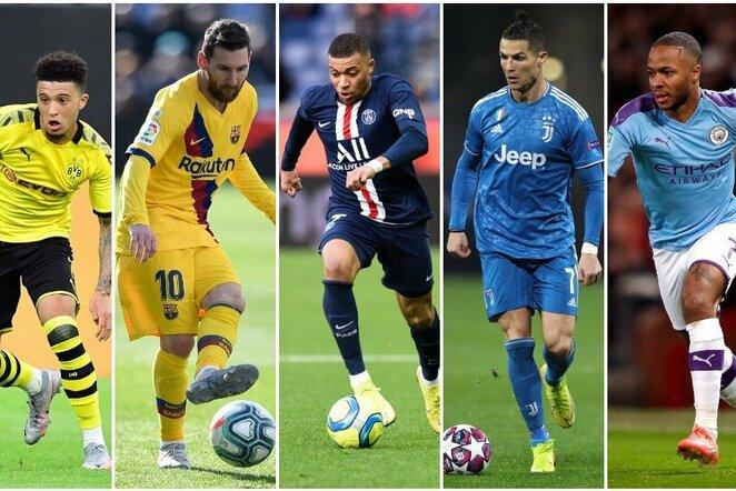 Paskelbti vertingiausi pasaulio futbolininkai | Scanpix nuotr.