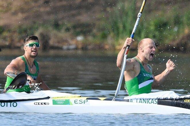 Aurimas Lankas ir Edvinas Ramanauskas   Scanpix nuotr.