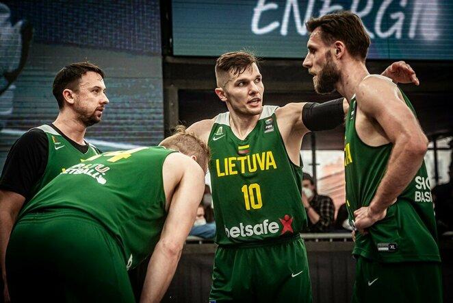 Lietuvių ir korėjiečių rungtynės   FIBA nuotr.