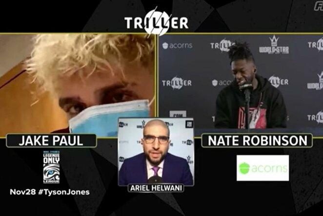 Jake'as Paulas ir Nate'as Robinsonas   Youtube.com nuotr.
