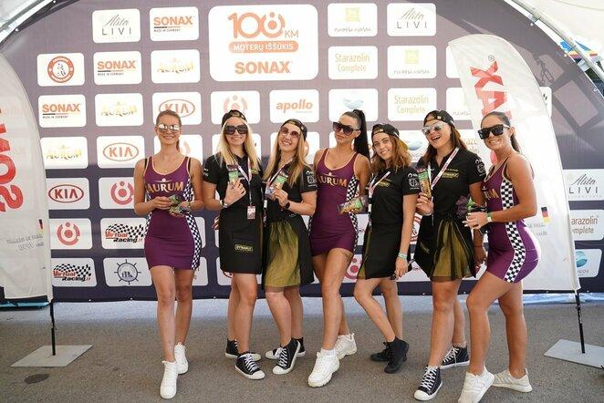 """Moterys pradėjo savo 108 km iššūkį su """"Sonax""""   Organizatorių nuotr."""
