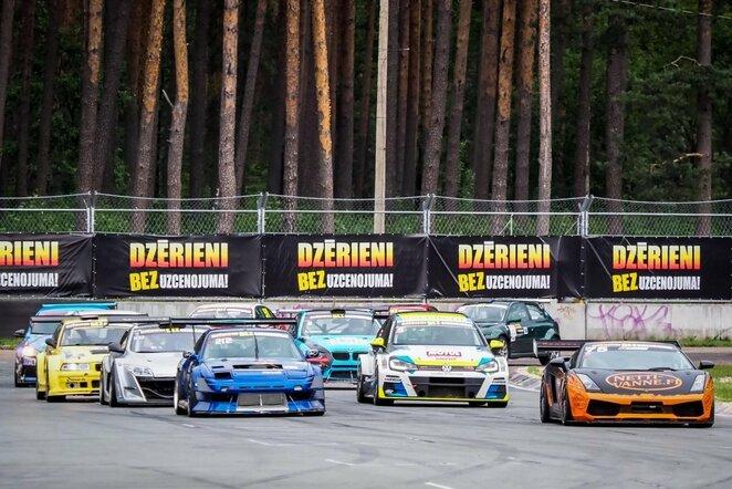 BaTCC lenktynės   Organizatorių nuotr.