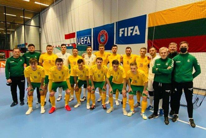 Lietuvos salės futbolo rinktinė | lff.lt nuotr.
