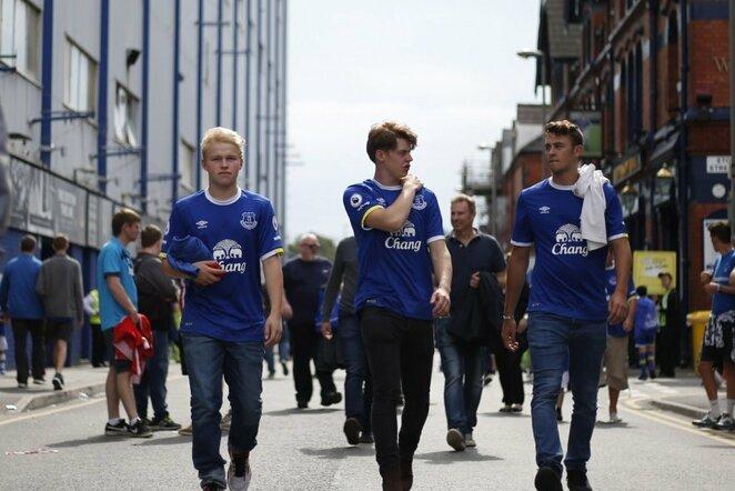 """Everton"" fanai | Scanpix nuotr."