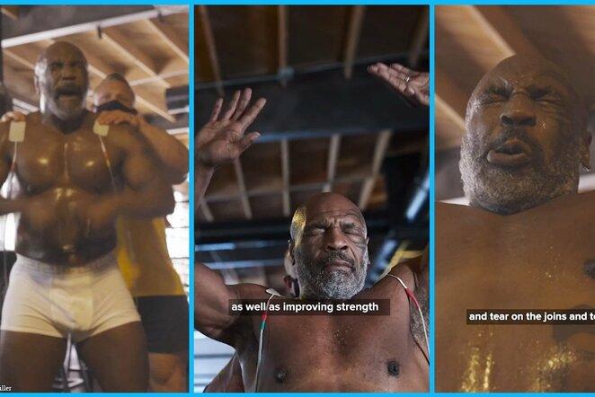 "Mike'as Tysonas | ""Twitter"" nuotr."