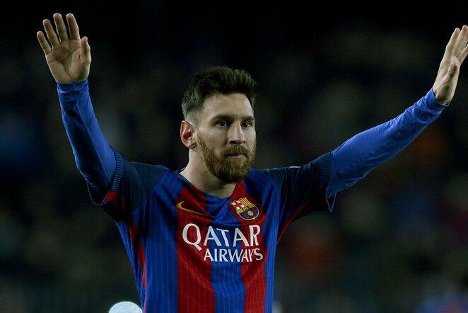 Mančesterio komanda pateiks 100 mln. svarų už Lionelį Messi   Scanpix nuotr.