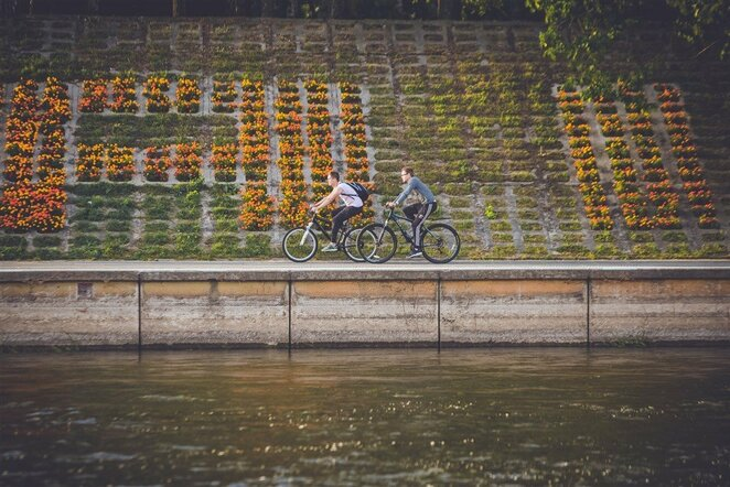 Važiavimas dviračiu | Edgaro Buiko nuotr.