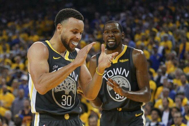 Curry ir Durantas | Scanpix nuotr.