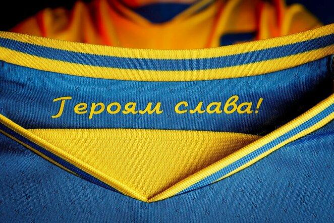 Ukrainos marškinėliai | Scanpix nuotr.
