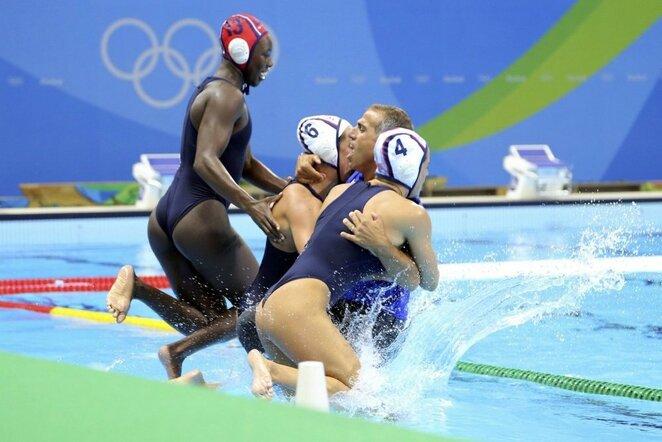 JAV moterų vandensvydžio rinktinės triumfas | Scanpix nuotr.