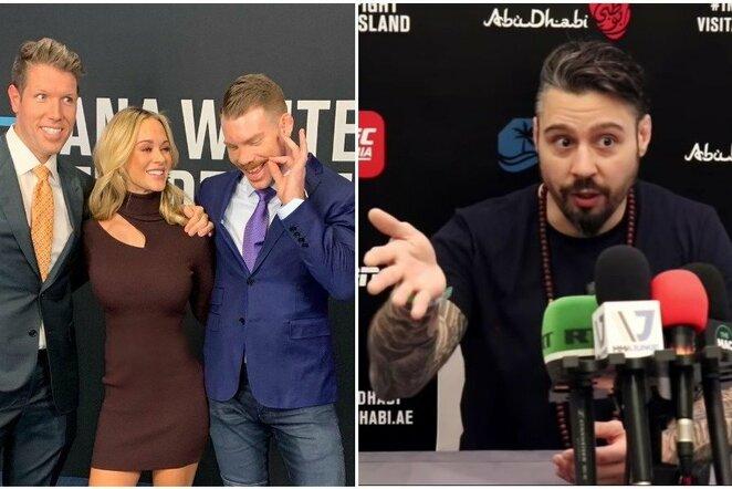 UFC komentatoriai | Instagram.com nuotr