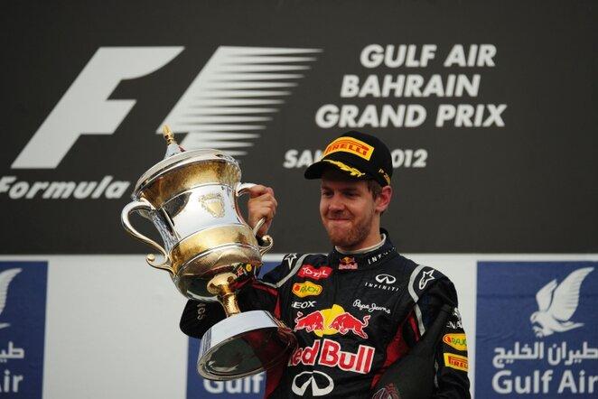 Sebastianas Vettelis | AFP/Scanpix nuotr.