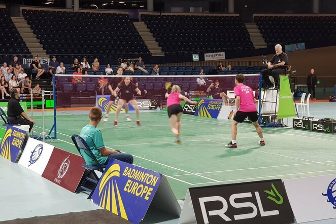 Badmintonas | Organizatorių nuotr.