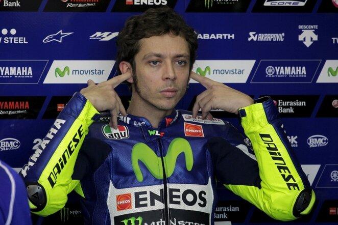 Valentino Rossi   Reuters/Scanpix nuotr.