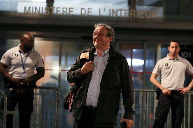 Michelis Platini | Scanpix nuotr.