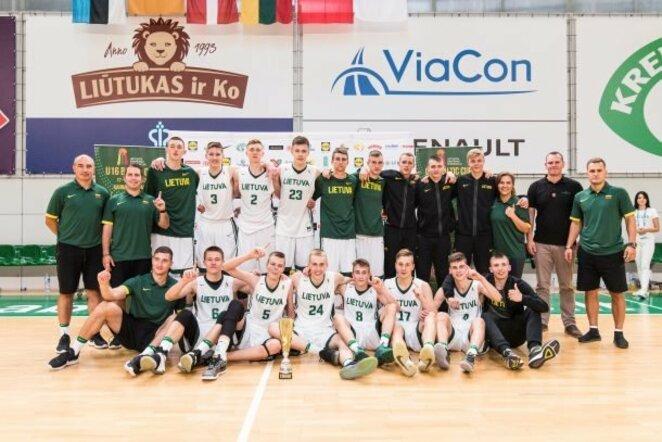 Lietuvos U16 rinktinė | LKF nuotr.