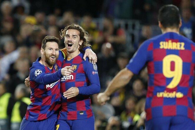 Lionelis Messi ir Antoine'as Griezmannas | Scanpix nuotr.