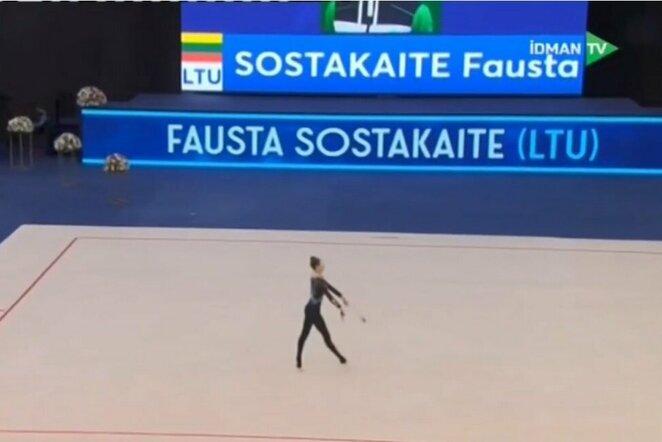 Fausta Šostakaitė | Youtube.com nuotr.