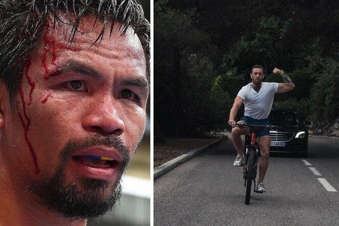 Manny Pacquiao ir Conoras McGregoras   Instagram.com nuotr