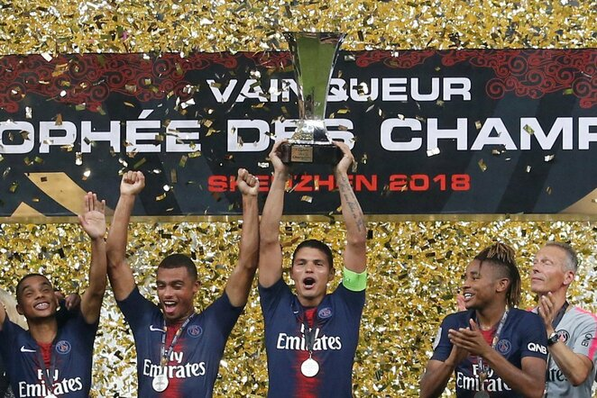 Prancūzijos Supertaurės finale triumfavo Paryžiaus PSG   Scanpix nuotr.
